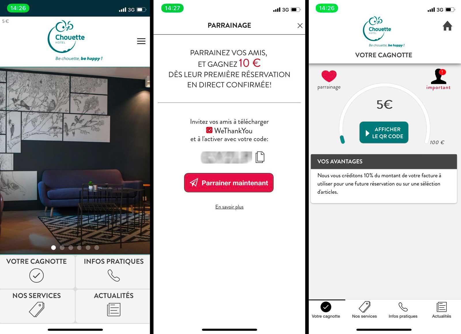 Be Chouette loyalty - the chouette hôtel paris - porte de versailles